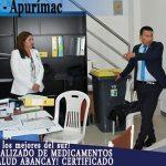 Almacén especializado de medicamentos de la red de salud Abancay Certificado