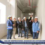 Hospital de Challhuahuacho en un 50% de avance