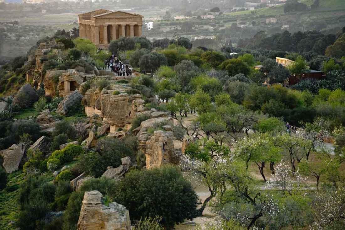 Resultado de imagen de valle dei templi agrigento
