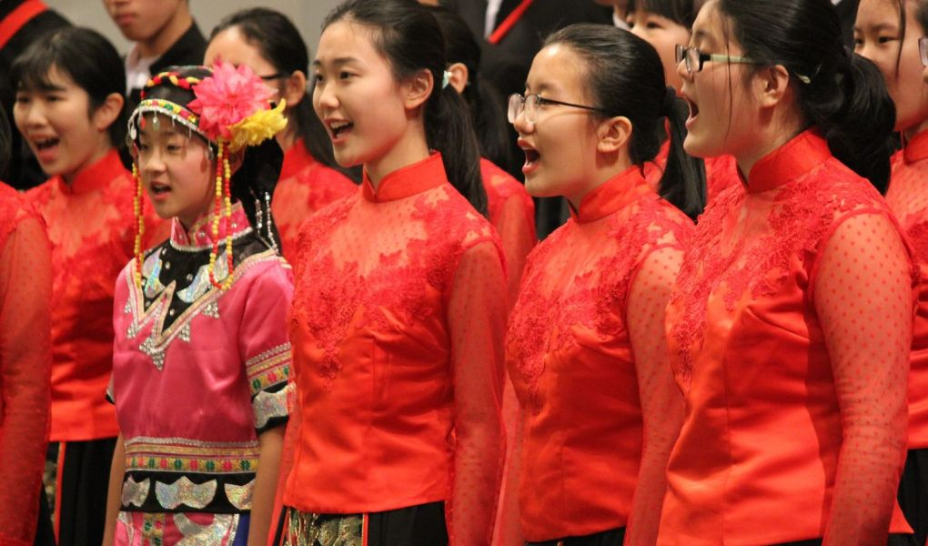 the origin of chinese choral music