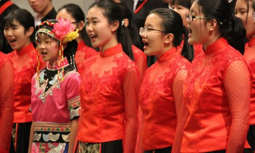 The Origin of Modern Chinese Choral Music