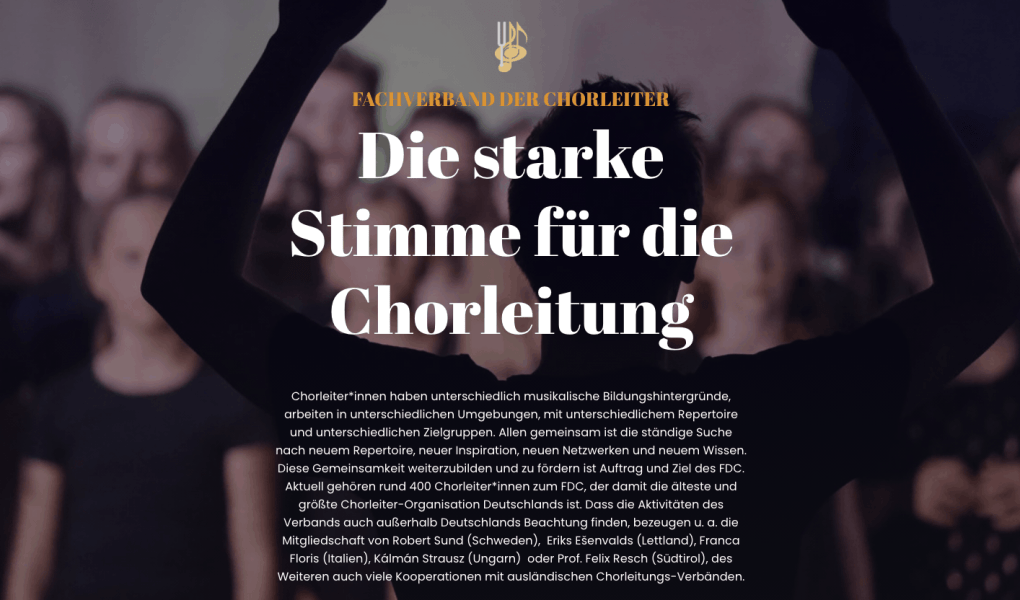 The German Association of Choral Directors (FDC)