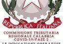 Fase 2: le regole della Commissione Tributaria Regionale della Calabria.