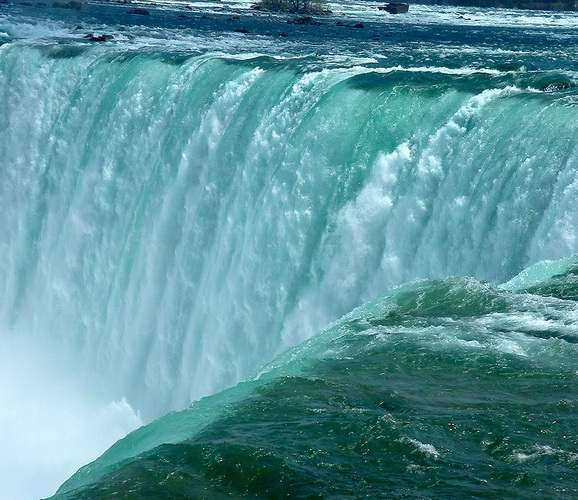 Niagara up close