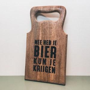 Borrelplank Nee Heb Je, Bier Kun Je Krijgen