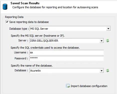 MSSQL Database