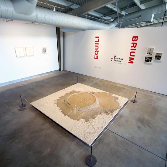 Equilibrium: A Paul Kos Survey (installation view). Photo: Wilfred J. Jones