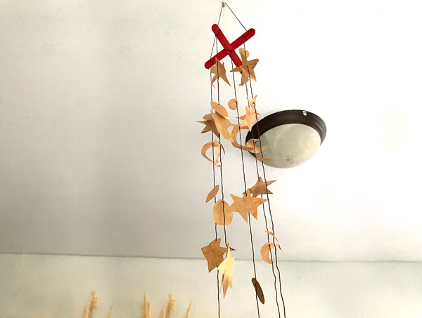 Paper Bag Wind Chime