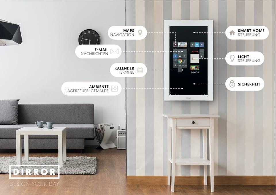 DIRROR smart home hub
