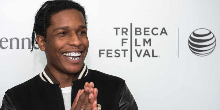 NEW YORK, NY - APRIL 21: Rapper ASAP Rocky attends 2015 Tribeca Film Festival - Tribeca Talks: CRWN With Elliott Wilson And A$AP Rocky at Spring Studios on April 21, 2015 in New York City. (Photo by Mike Pont/WireImage)