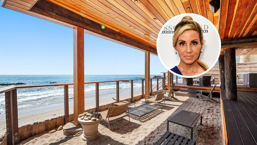 Camille Grammer-Meyer's Malibu Beach House For Rent