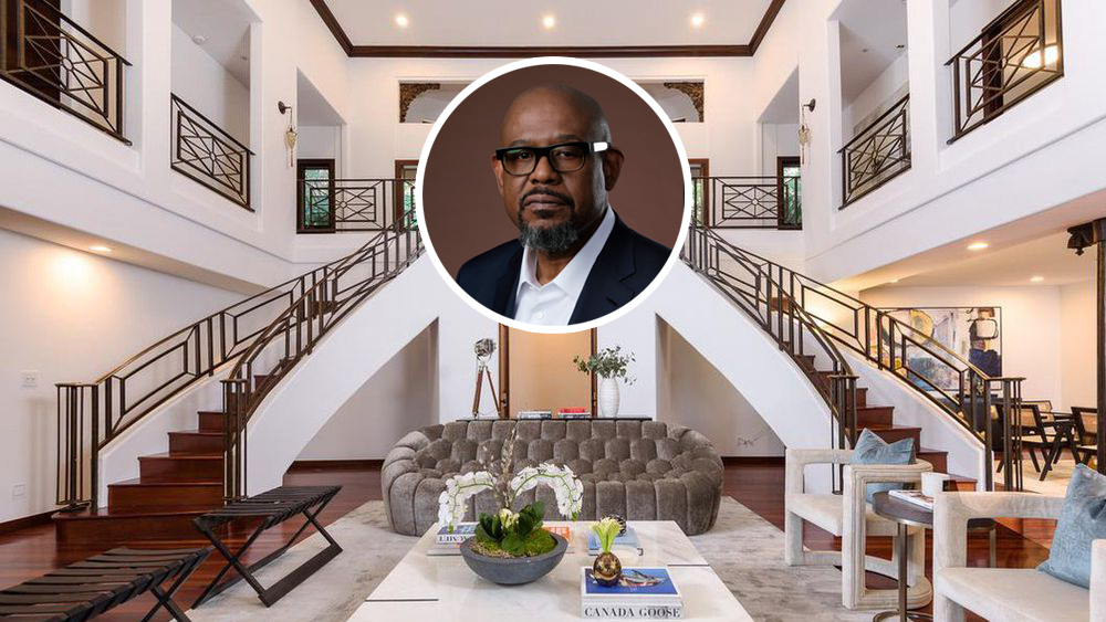 Forest Whitaker Re-Lists Hollywood Hills Compound