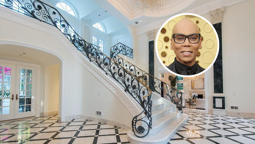 RuPaul Opts for Unabashed Opulence in Beverly Hills
