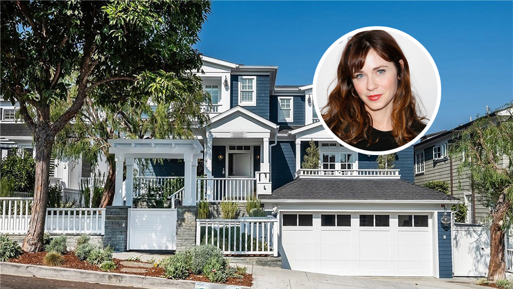 Zoey Deschanel Lists Manhattan Beach Home
