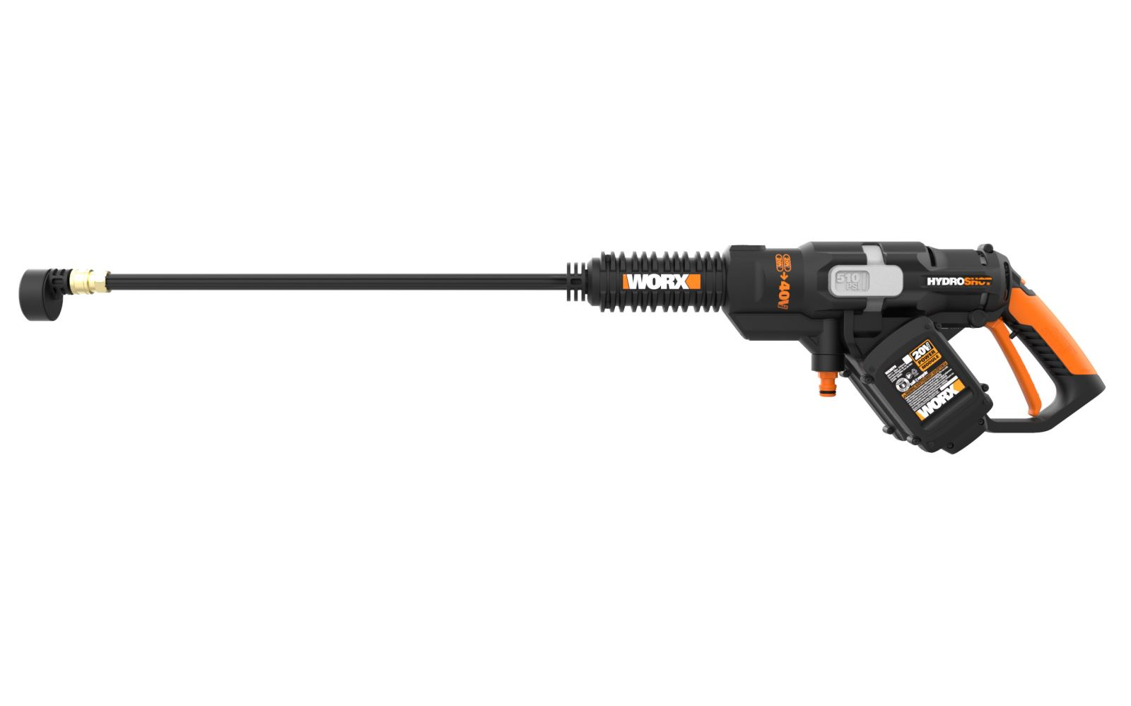 New Worx 40v Hydroshot Portable Power Cleaner Is