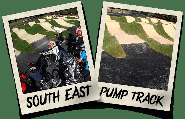 Dirtworks BMX South East Pump Track Polaroid