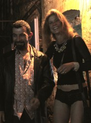 Fabio Marini and Lina Otto