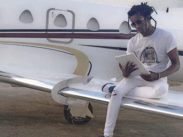 Young Thug Takes YSL On Helicopter Ride