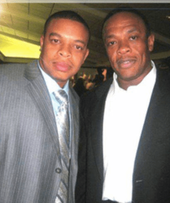 Dr Dre and Curtis Young