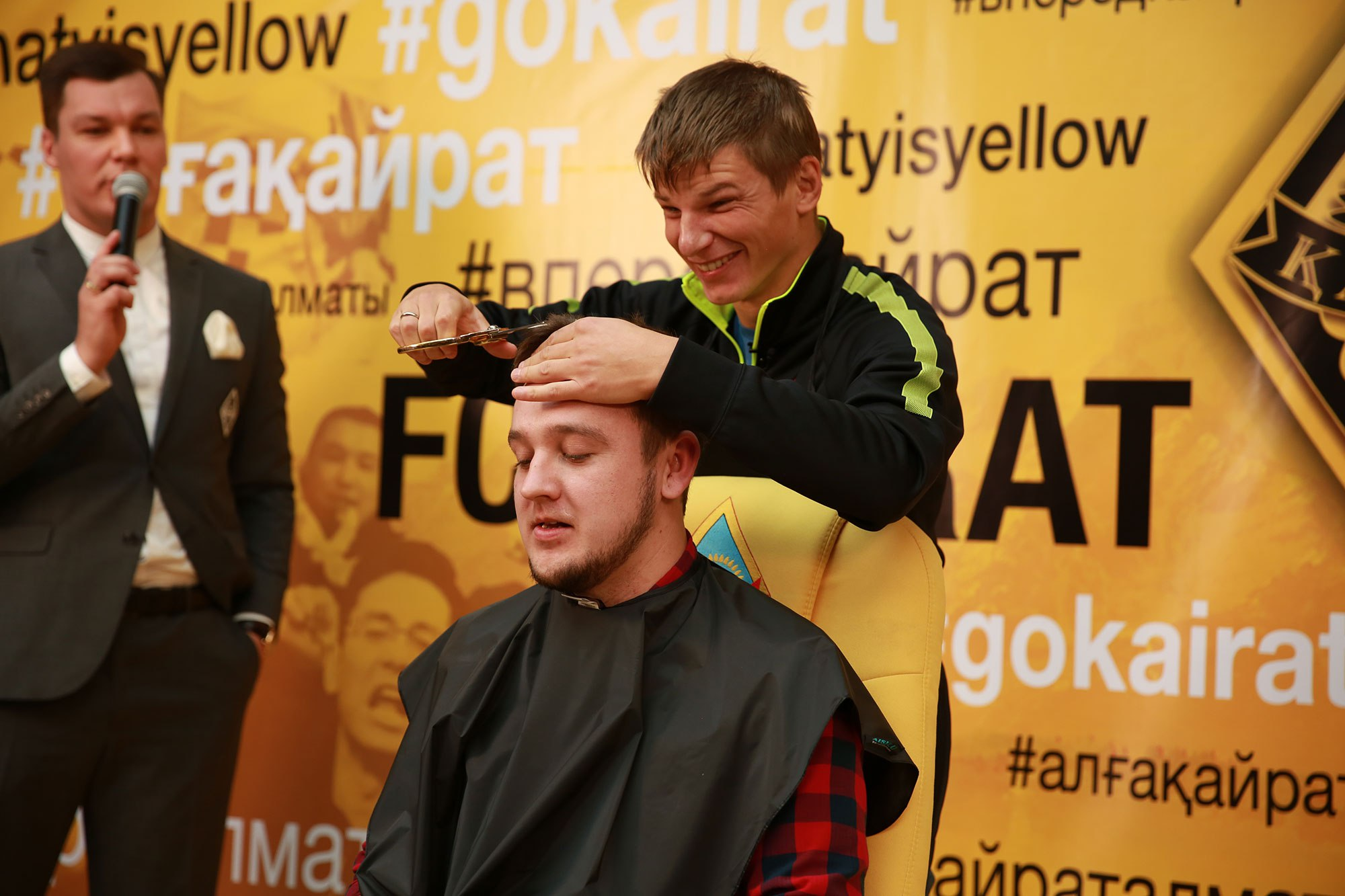 Andrei Arshavin shaved a journalist in a loser's controversy 10/06/2016 93