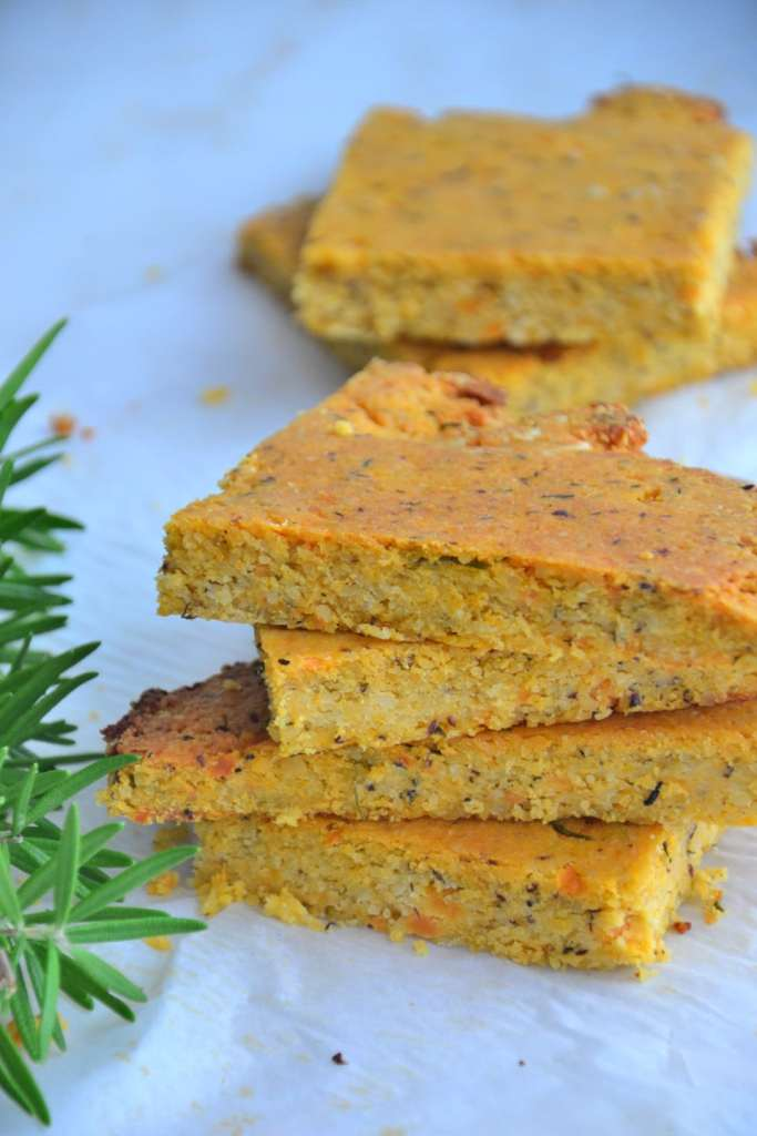 grain-free sweet potato flatbread