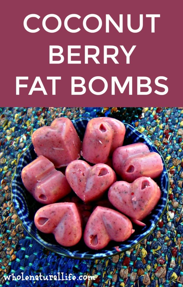 Coconut Berry Fat Bombs