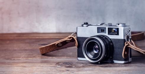 una fotocamera