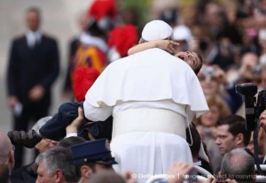Pope Holding Dominic