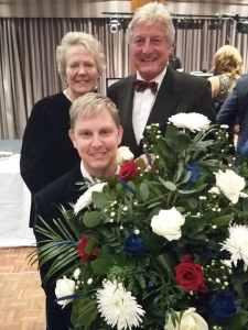 Norma Hazzledine, Tony Alcock & Paul Brown