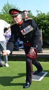 Vice Lord Lieutenant of Bedfordshire Colonel Colin Mason OBE