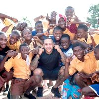 Memphis Depay Is Set To Be In Ghana Soon To Visit The Cape Coast School For The Deaf And Blind