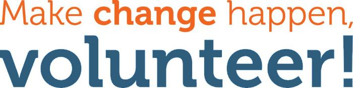 Make change happen, Volunteer