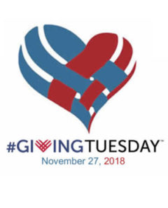 Giving Tuesday with heart, Nov 27 2018