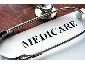 Stethoscope laying on paper that says Medicare