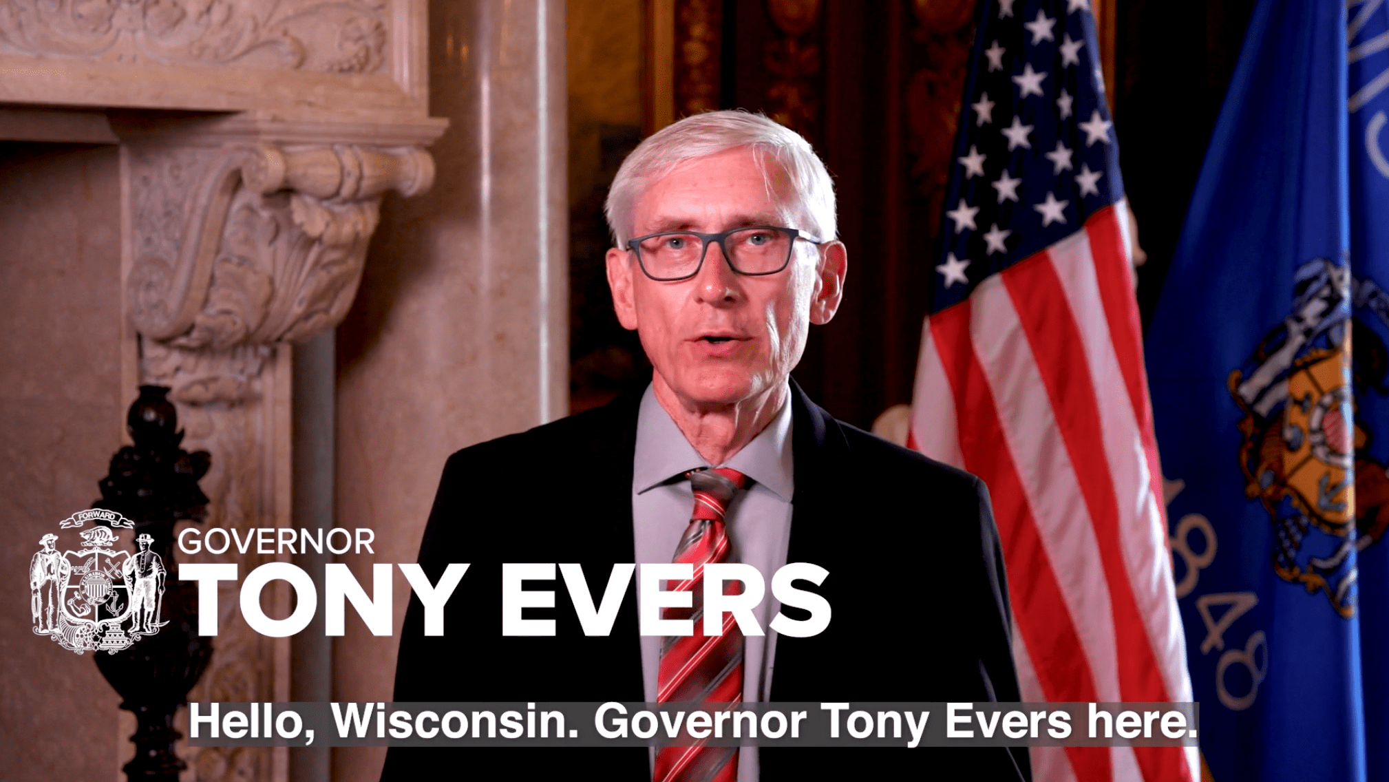 Tony Evers Wisconsin Governor