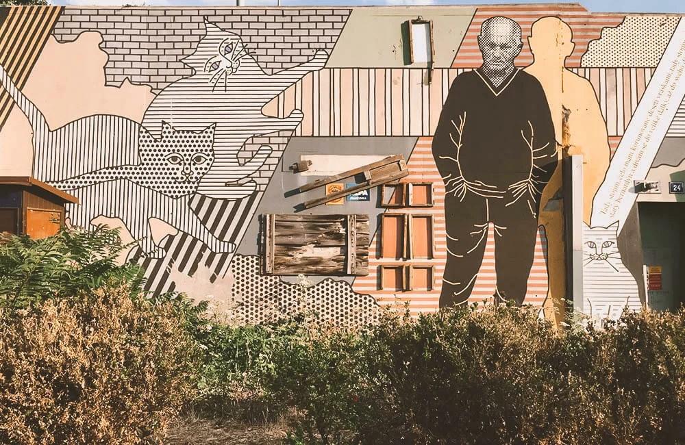 Street Art a Praga - Wall dedicato a Harbal
