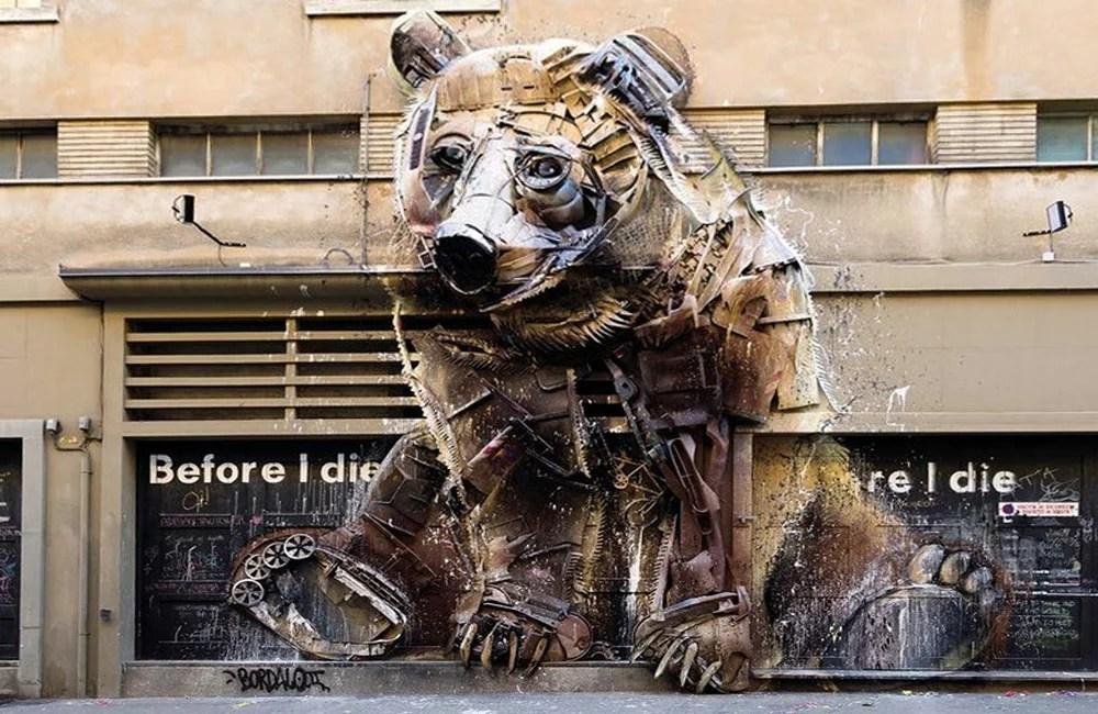 Bordalo-II-Big-Trash-Animal-Orso-Torino