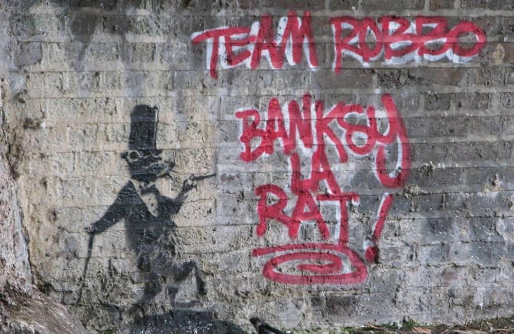 Robbo-vs-Banksy-01-Banksy-La-Rat