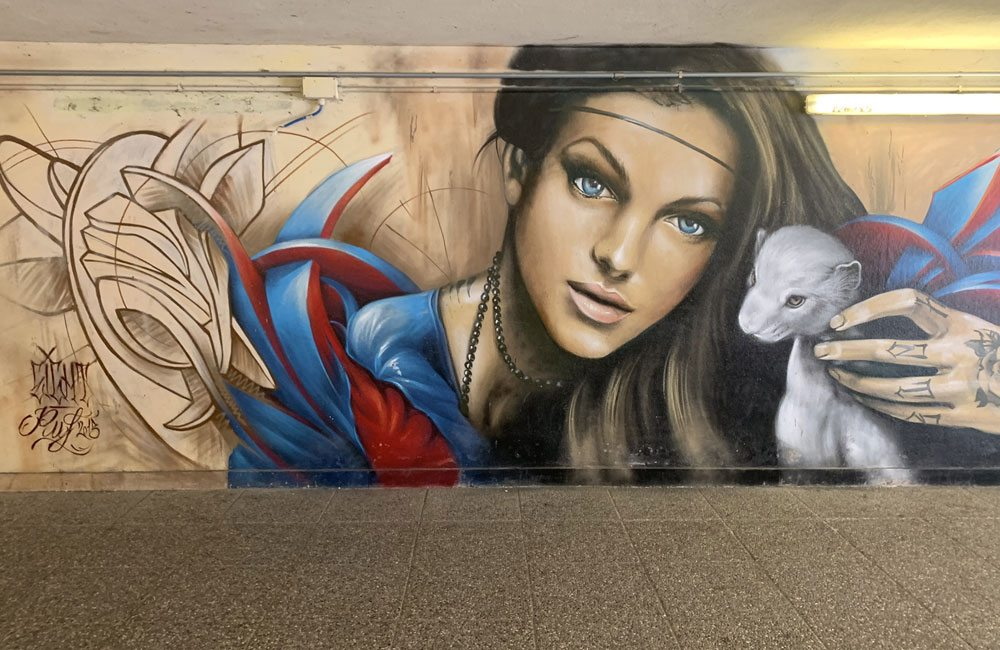Street Art Sottopasso Stazione di Locate Triulzi