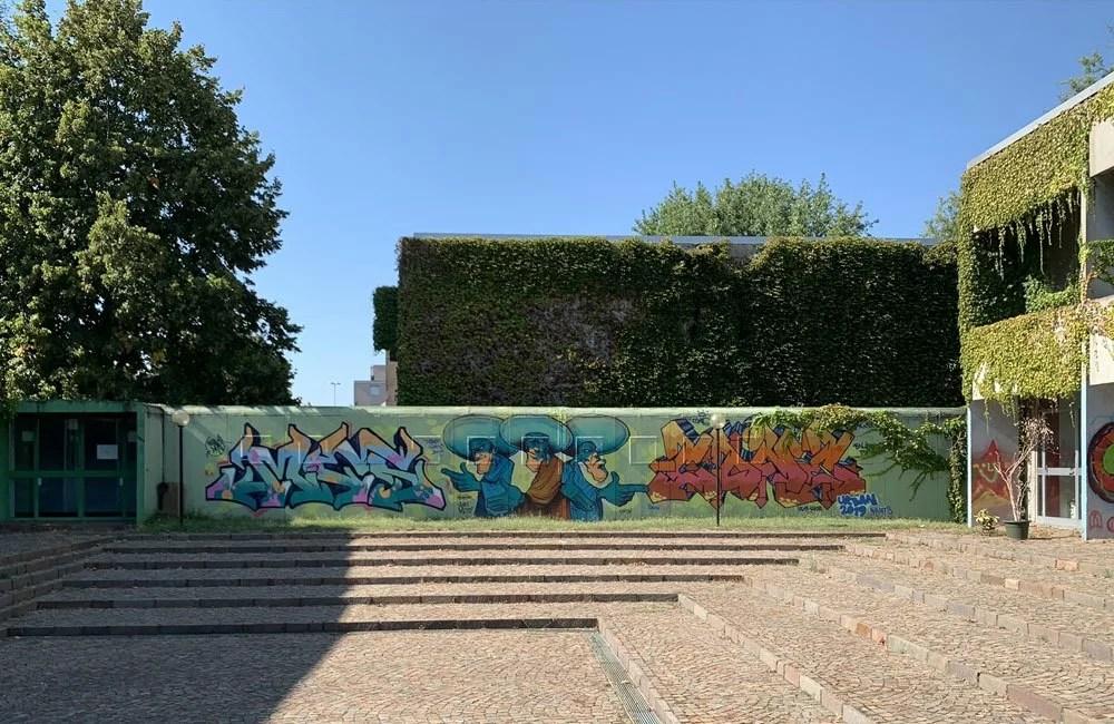 Street art - Scuola Trezzano Sul Naviglio