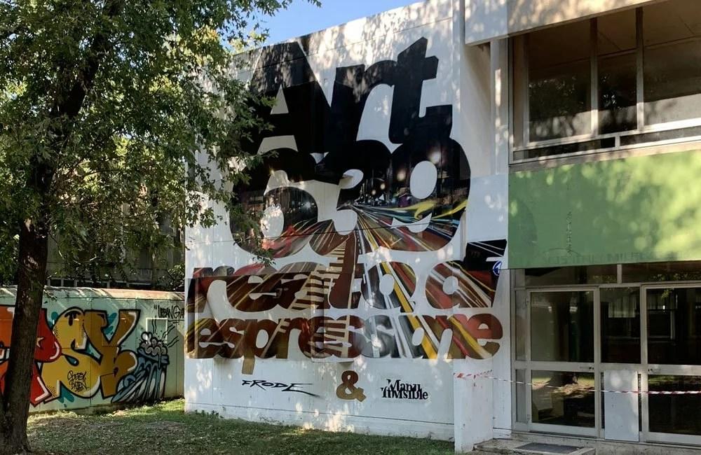 ManuInvisible Frode Street Art Trezzano Sul Naviglio
