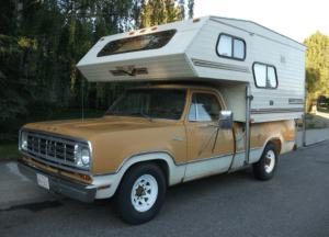 Truck Camper Installed