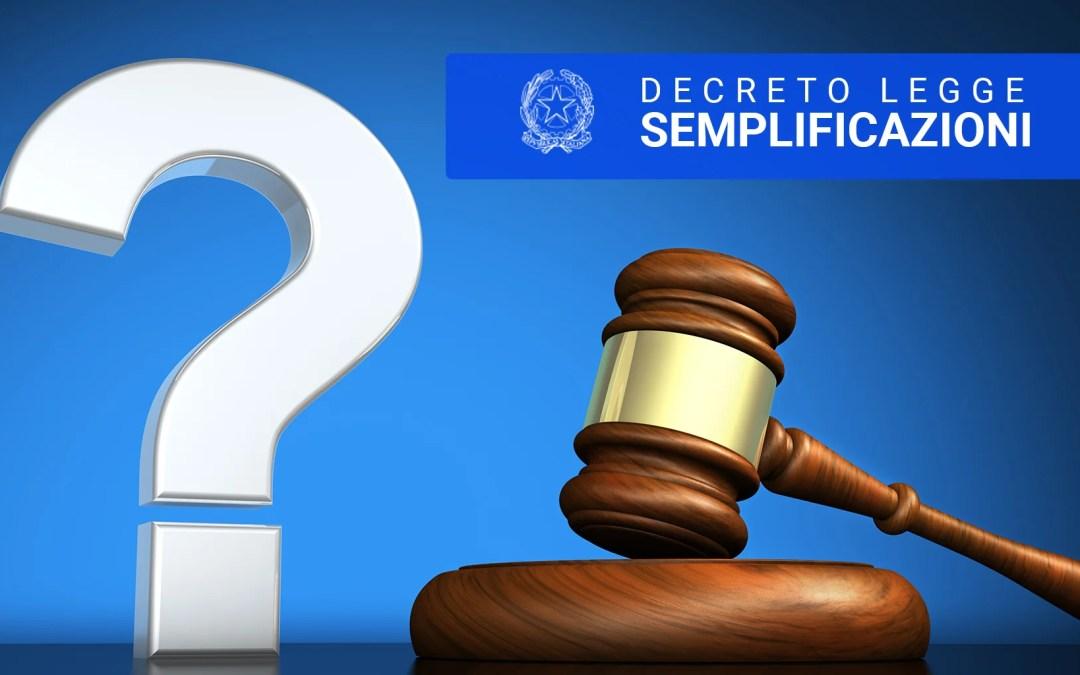 Decreto Semplificazione e Sottosoglia: