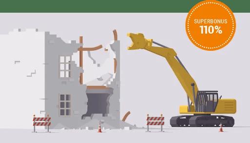 demolizione e ricostruzione con ampliamento