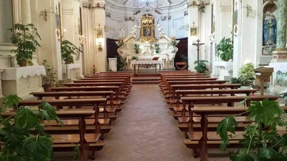 Lavori per la messa in sicurezza della chiesa – Lazio