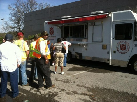 Salvation Army Responding to Alabama Tornadoes