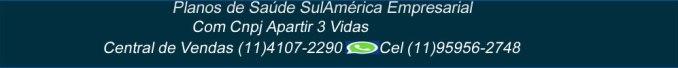 tabela de preços sulamerica empresarial