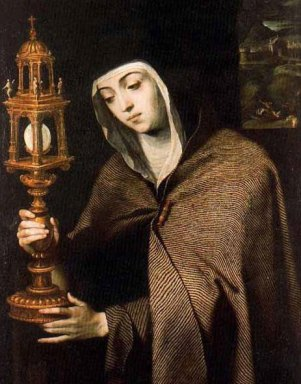 A 9-Day St  Clare of Assisi Novena - mp3 audio and text podcast