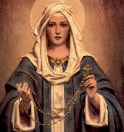 The Holy Rosary of the Most Blessed Virgin Mary text and mp3 audio download