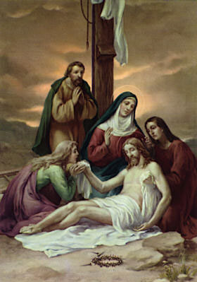Stations of the Cross according to the method of St. Francis  text and mp3 audio download 14